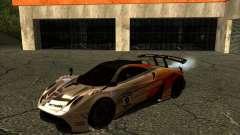 Pagani Huayra SHE for GTA San Andreas