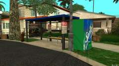 New bus stop