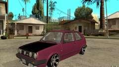 VW Golf 2 GTI for GTA San Andreas