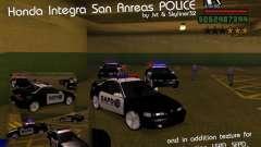 Honda Integra 1996 SA POLICE