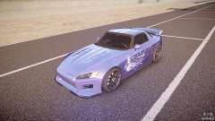 Honda S2000 Tuning 2002 skin 2 calm for GTA 4
