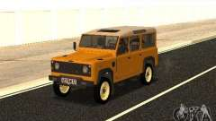 Land Rover Defender 110 for GTA San Andreas