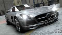Mercedes-Benz SLS 2011 Brabus AMG Widestar for GTA 4