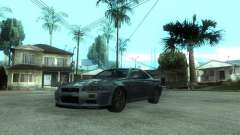 Nissan Skyline GT-R34 V-Spec for GTA San Andreas