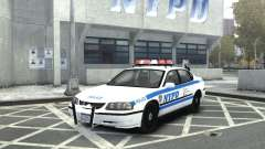 Chevrolet Impala NYCPD POLICE 2003 for GTA 4