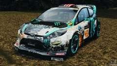 Ford Fiesta RS WRC Gymkhana v1.0