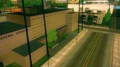 New textures All Saints General Hospital
