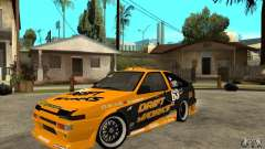 Toyota Corolla GT-S DriftWorks for GTA San Andreas