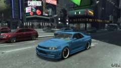 Nissan Skyline GT-R34 Nismo for GTA 4