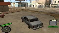 New HUD for GTA San Andreas