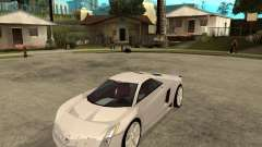 Cadillac Cien white for GTA San Andreas