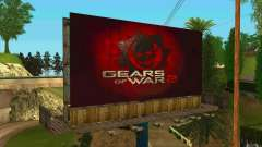 Billboards In GEARS OF WAR for GTA San Andreas