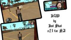 HUD by Hot Shot v2.1 for GTA San Andreas
