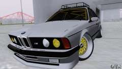 BMW M635CSi Stanced for GTA San Andreas