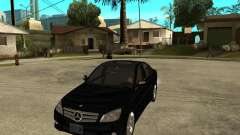 Mercedes Benz C350 W204 Avantgarde for GTA San Andreas