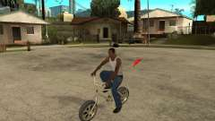 WideWheel-BMX 1 LOUIS VUITTON Version for GTA San Andreas