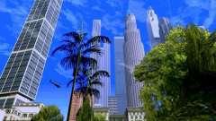 Skyscrapers in Los Santos