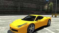 Ferrari 458 Italia 2010 v3.0 for GTA 4