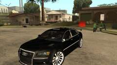 Audi A8 Tuned for GTA San Andreas