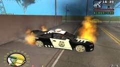 Burning car in GTA 4 for GTA San Andreas