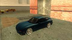 Mazda RX 7 turquoise for GTA San Andreas