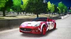 Ferrari California DC Texture