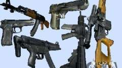 Max Payne 2 Weapons Pack v1 for GTA Vice City