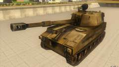 M-109 SELF-PROPELLED GUNS for GTA San Andreas