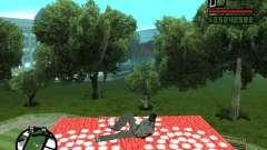 Flying Carpet for GTA San Andreas