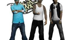 Skinpack Rifa Gang for GTA San Andreas