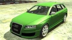Audi RS6 Avant 2010 Stock for GTA 4