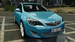 Opel Astra 2010 v2.0 for GTA 4