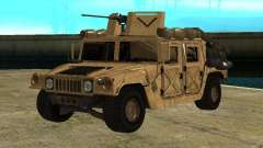 Hummer H1 HMMWV with mounted Cal.50