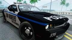 Dodge Challenger SRT8 2010 Police for GTA San Andreas