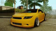 Scion tC 2012 yellow for GTA San Andreas