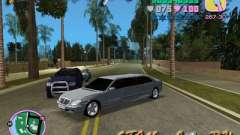 Mercedes-Benz S600L for GTA Vice City