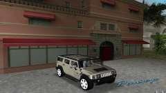 AMG H2 HUMMER for GTA Vice City