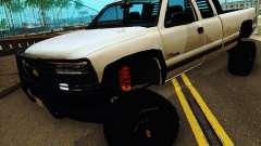 Chevrolet Silverado 2500HD 2001 for GTA San Andreas