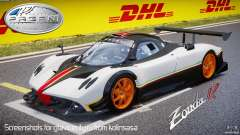 Pagani Zonda R 2009 Italian Stripes for GTA 4