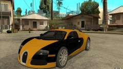 Bugatti Veyron v1.0 for GTA San Andreas
