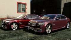 Menu and boot screens BMW HAMANN in GTA 4