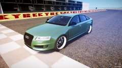 Audi RS6 2009 for GTA 4