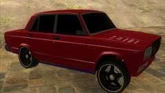 VAZ 2107 hard tuning for GTA San Andreas
