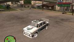 Vaz 2101 car tuning for GTA San Andreas