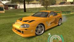 Toyota Supra from 2 Fast 2 Furious for GTA San Andreas