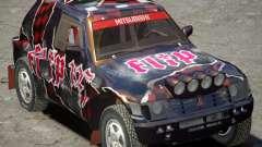 Mitsubishi Pajero Proto Dakar Vinyl 3