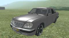 GAZ 31105 Volga silver for GTA San Andreas