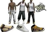 Skin Pack Vagos for GTA San Andreas
