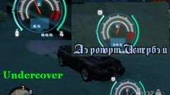 Speedometer of NFS Undercover