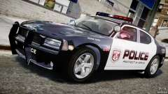 Dodge Charger NYPD Police v1.3 for GTA 4